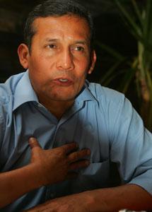 Ollanta Humala. I Foto: Miguel Gutiérrez.