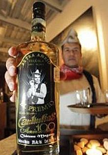 El tequila del centenario.