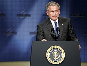 George W. Bush. (Foto: EFE)