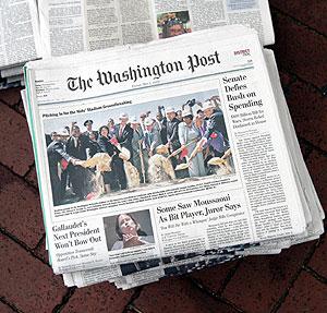 La circulación de periódicos en EEUU continúa descendiendo