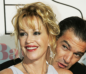 Melanie Griffith junto a Antonio Banderas. | Antonio Heredia