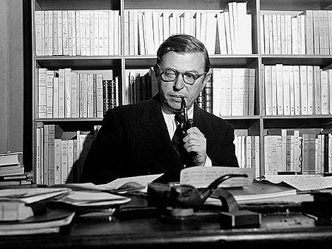 El filósofo francés Jean-Paul Sartre