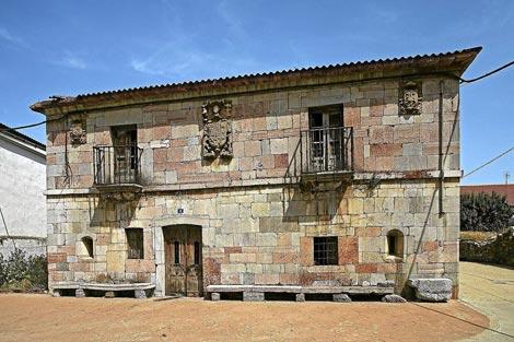 Una vista de la casona blasonada del siglo XVIII. | Javier Gutiérrez