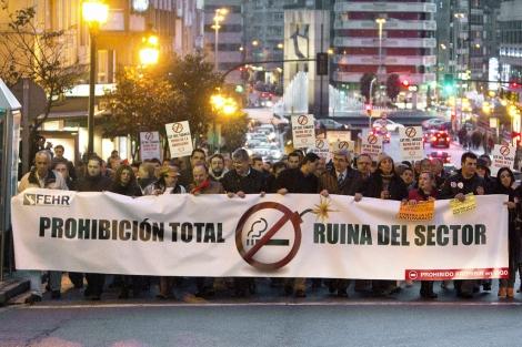 Demonstration der Gegner des neuen Gesetzes
