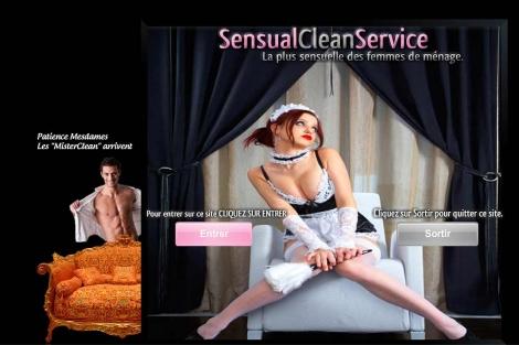 Página web donde se pueden contratar asistentas sexys.