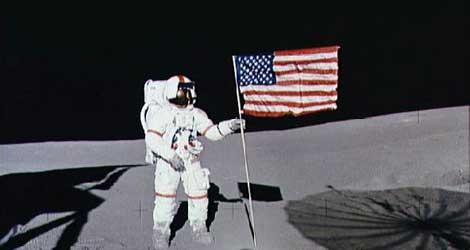 Shepard pisó la luna en 1971. | AFP.