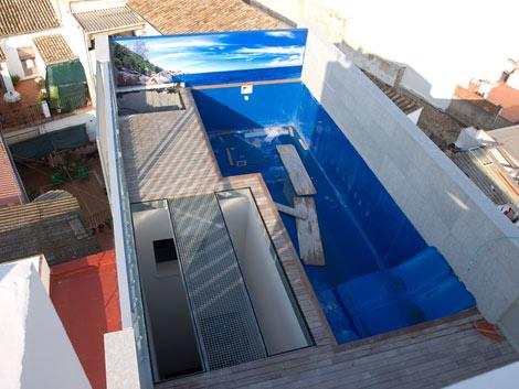 Cubierta de la vivienda, ya casi terminada. | Elmundo.es