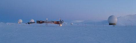 Vista de la estación. | Vegard Kemnitz / ESA.