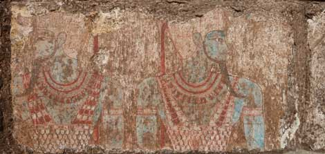 Bloque dedicado al rey Osorkon III o IV. | Ministerio de Antigüedades de Egipto.