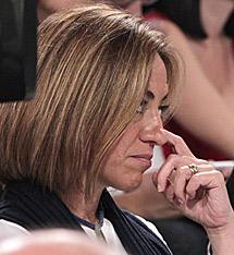 La ministra Chacón, que renunció a presentarse a las primarias. | Efe