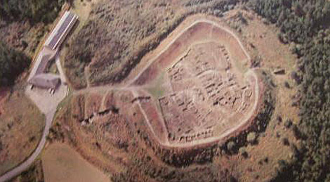 Visión aérea de Viladonga.