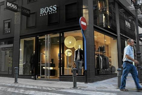 Una tienda de Hugo Boss en Alicante  C.L.