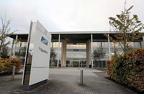 Oficinas de RIM en el Reino Unido. | AP