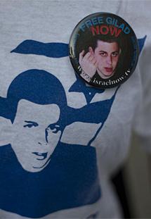 La imagen de Gilad Schalit. | Ap