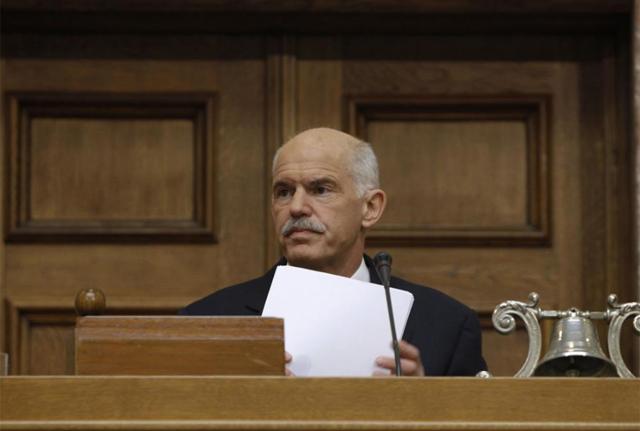 El primer ministro griego, Yorgos Papandreu. | Reuters