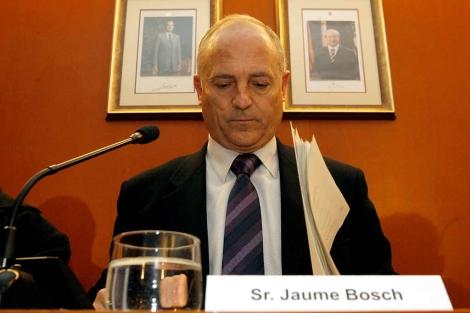 Jaume Bosch, alcalde de Sant Boi, en enero de 2009.   Antonio Moreno