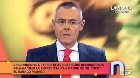 Jordi Gonzlez defiende este sbado la entrevista a la madre de 'El Cuco'.