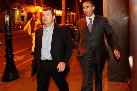Tores y su abogado asistieron anoche al registro | Quique García