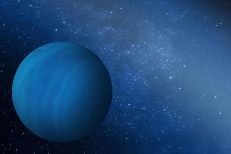 Recreación del quinto planeta gigante del Sistema Solar. |Southwest Research Institute