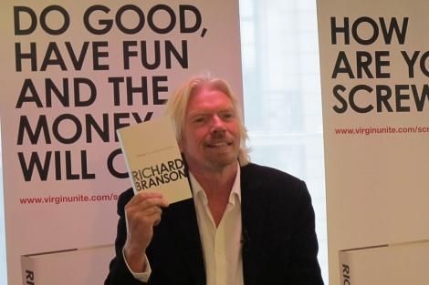 Branson, durante la presentación de su libro. | Foto: Carlos Fresneda
