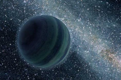 Recreación del planeta Gliese 586d, realizada por la NASA. | NASA