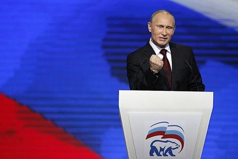 Putin, en el acto. | AP