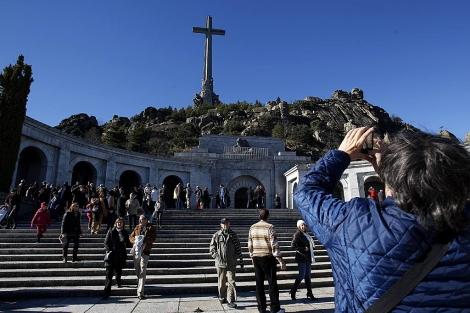 La basílica del Valle de los Caídos, donde están enterrados los restos de Franco.   J. Barbancho