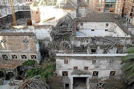 El Convento de San Andrés sigue en estado ruinoso.   ELMUNDO.es