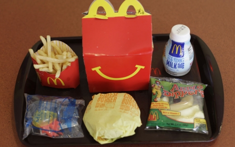 Un men Happy Meal de McDonald's. | AP