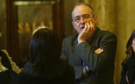 El republicano, Josep Bargalló, en el Parlament. | Domènec Umbert