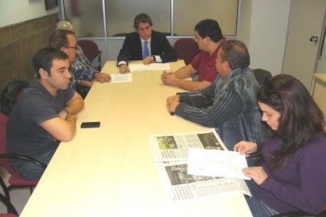 La reunión entre el edil y los hosteleros se ha producido este martes. | ELMUNDO.es