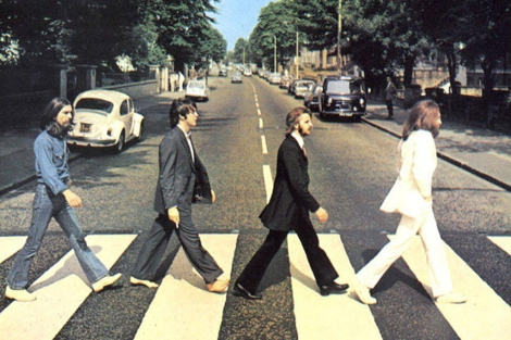 Portada del disco 'Abbey Road', de The Beatles.