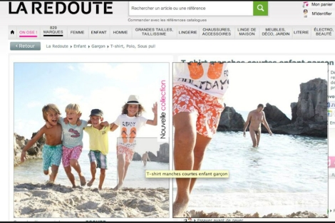 Imagen del catálogo de La Redoute.