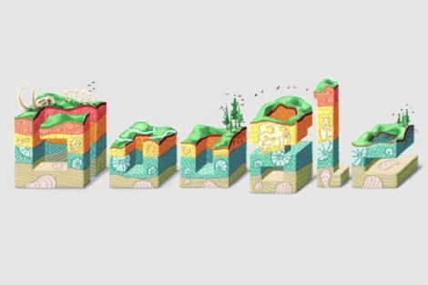 Imagen del 'doodle' en homenaje a Steno
