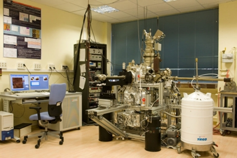 Laboratorio en el IMDEA Nanociencia.| J.L. Fernandez-Cuñado