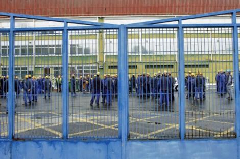Un centenar de trabajadores se encerraron en el astillero el pasado diciembre. | Efe