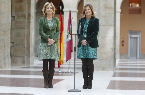 Esperanza Aguirre y Ana Botella, primer encuentro. José Aymá