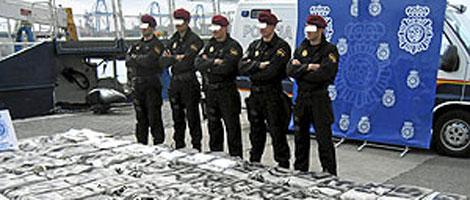 Las autoridades abordaron el 'Río Manzanares', cargado de droga, en 2008.