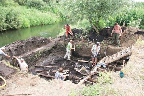 Yacimiento arqueológico encontrado en la cuenca del río Dubná, cerca de Moscú. | CSIC