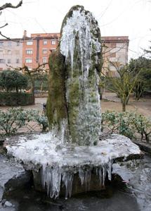 Heladas en Prades (Tarragona). | Efe
