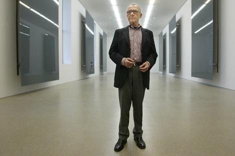 El artista alemán Gerhard Richter. | AP