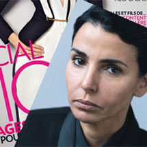 Dati, caracterizada en la portada de Marie Claire.