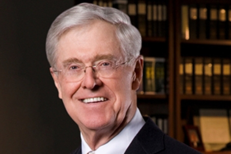 El magnate petroqu�mico Charles Koch, uno de los financiadores del Heartland Institute. | Koch Industries