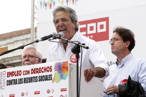 El secretario general de UGT-Madrid, Jos Ricardo Martnez. | Efe