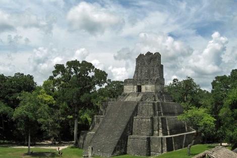 El templo de Tikal, en Guatemala. | Science / AAAS