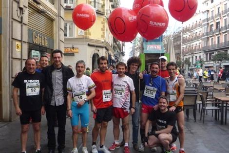 Roncero, Fiz y Cacho, entre los participantes.