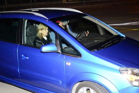 La Infanta Cristina e Iñaki Urdangarin, a su llegad a Palama el día 24. | Alberto Vera