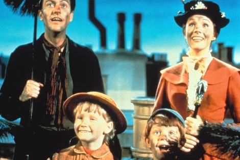 Un fotograma de la película 'Mary Poppins'.   Gtres