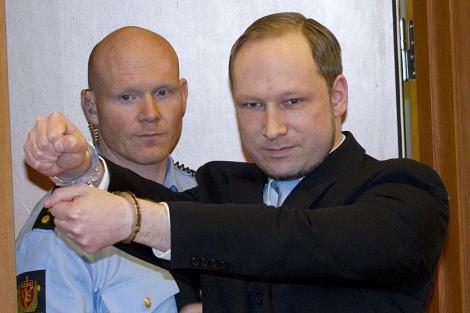 El asesino de Oslo y Utoya, Anders Behring Breivik. | Afp