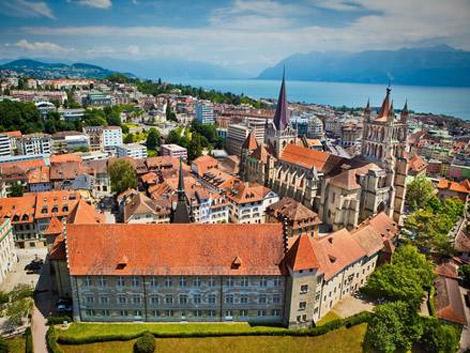 Panorámica de la ciudad de Lausanne (Suiza). | ELMUNDO.es